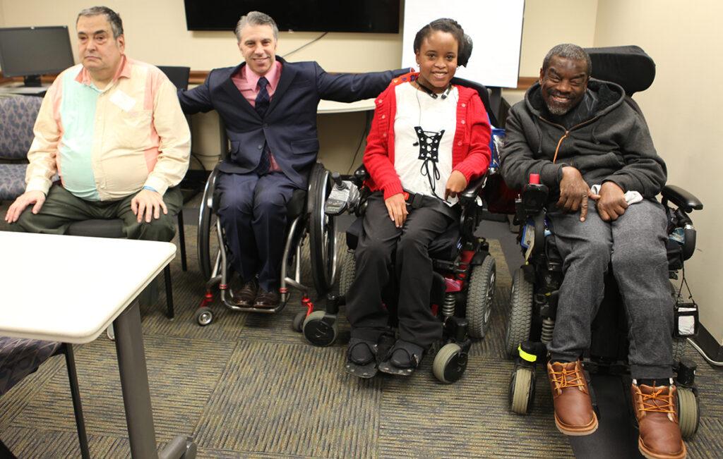 Harvey, Tony and Trina signing ceremony